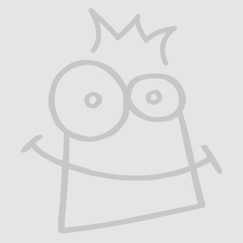 Self-Adhesive Wooden Heart Buttons