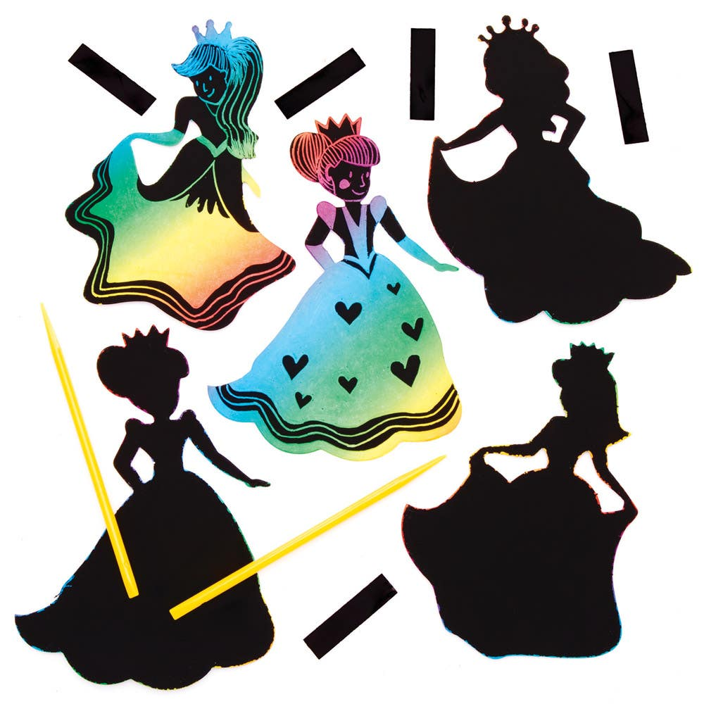 Princess Scratch Art...
