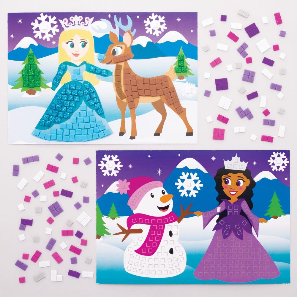 Snow Princess Mosaic...
