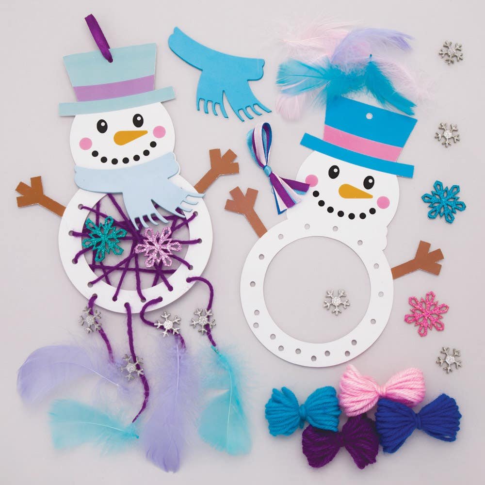 Snowman Dreamcatcher...