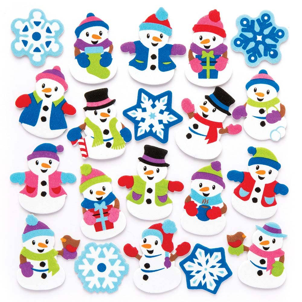 Snowman Foam...