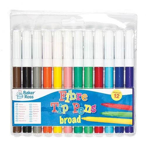 Marker & Fibre Pens